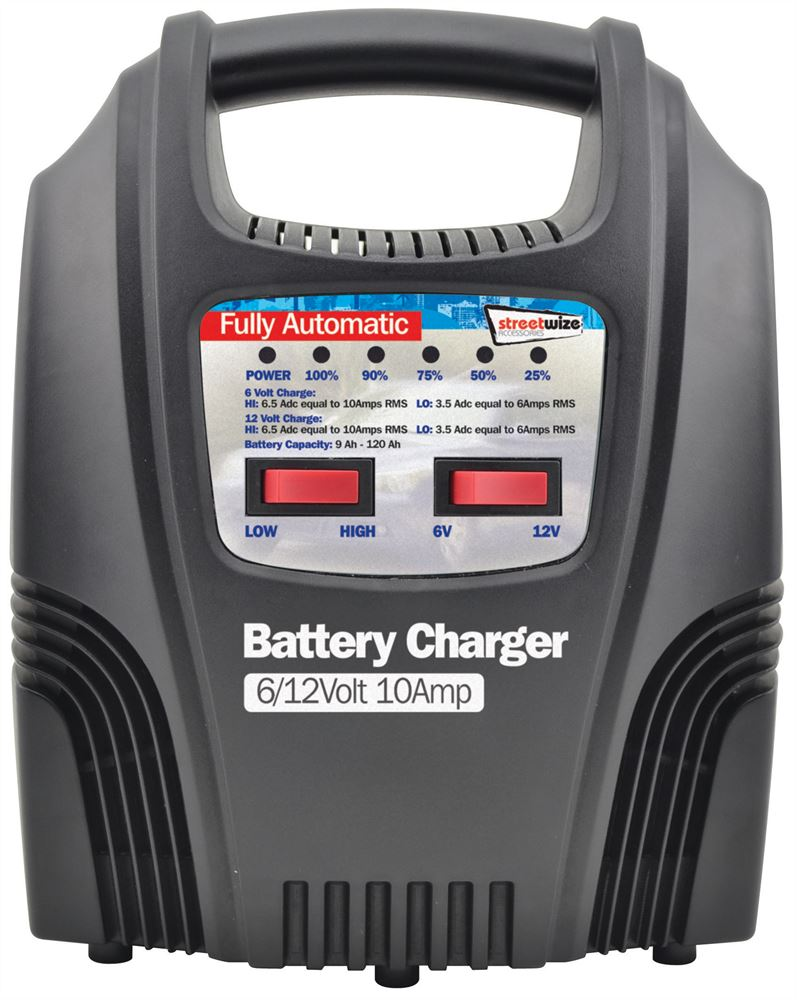 6 12v 10 Amp Fully Automatic Battery Charger Streetwize Accessories Ah 120 Fuse Box