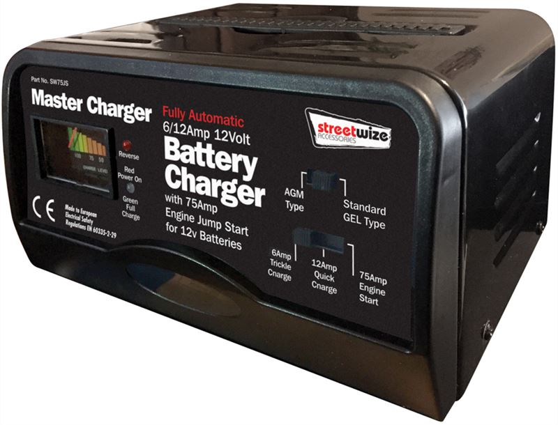 automatic charger for 12v battery
