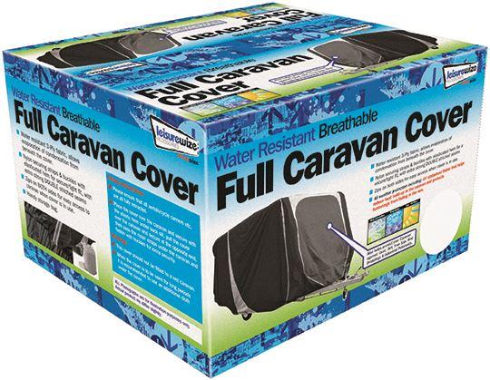 Leisurewize WR Breathable Caravan Cover 14ft 17ft Straps Buckles