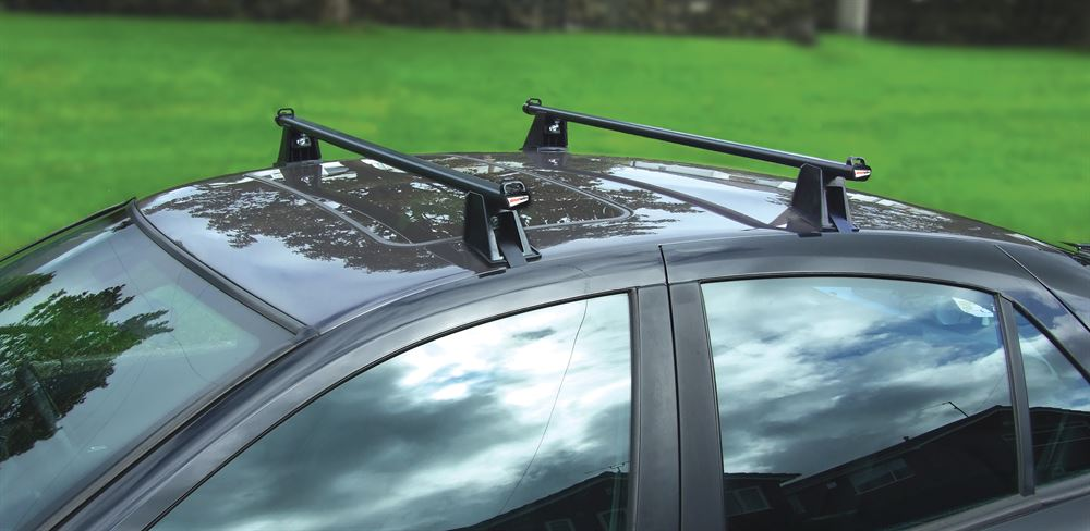 Roof Bars 4 Door Vehicles Without Roof Rails Refurbished