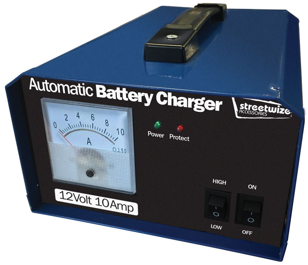High Amp Battery >> 12v 10 Amp Battery Charger Streetwize Accessories